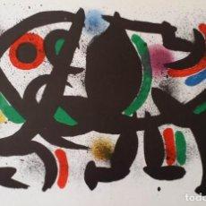 Arte: JOAN MIRO, LITOGRAFÍA VIII (1ER VOLUMEN). Lote 222647156