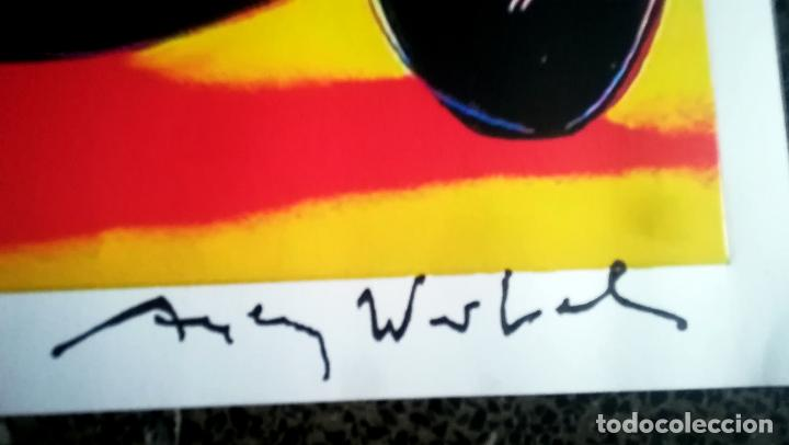 Arte: Andy Warhol-Mercedes-Benz W 125 Grand Prix Car-Firmado a mano.Edicion limitada 500-50,8 x 68,58 cm - Foto 2 - 222723458