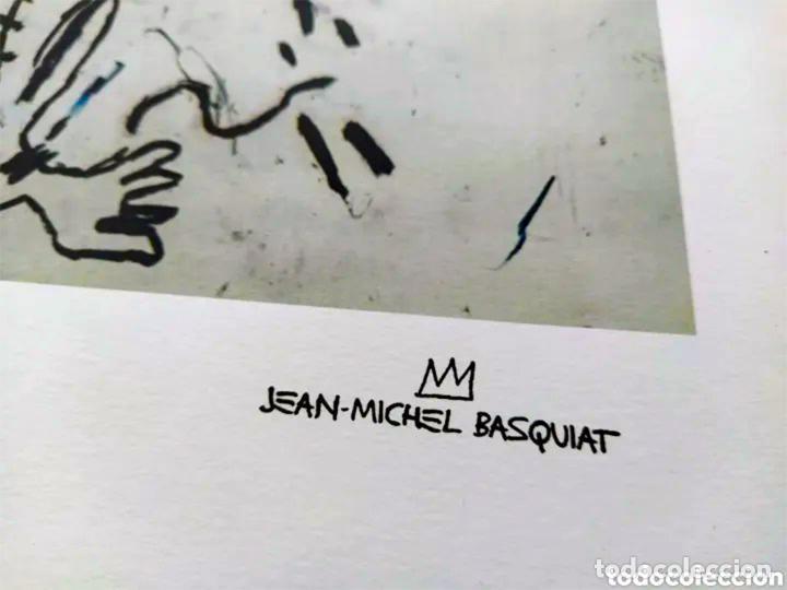 Arte: Cuadro Jean-Michel Basquiat - Litografía - Edicion Limitada 250 , firmada y Numerada Untitled, 1981 - Foto 5 - 222723540