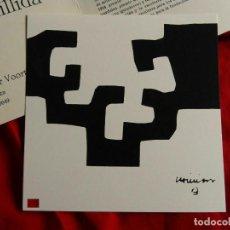 Arte: EDUARDO CHILLIDA, AÑOS 70, OPORTUNIDAD!. Lote 288897258