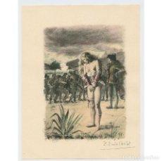 Arte: PAUL-ÉMILE BÉCAT (1885–1960) GRABADO ERÓTICO 17,5X23 CM.. Lote 223866647