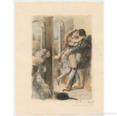 Arte: PAUL-ÉMILE BÉCAT (1885–1960) GRABADO ERÓTICO 17,5X23 CM.. Lote 223866737