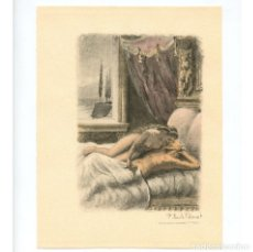 Arte: PAUL-ÉMILE BÉCAT (1885–1960) GRABADO ERÓTICO 17,5X23 CM.. Lote 223867401