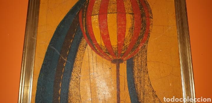 Arte: Litografia de un globo en tela sxix - Foto 2 - 224679730
