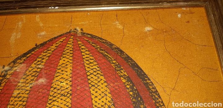 Arte: Litografia de un globo en tela sxix - Foto 6 - 224679730