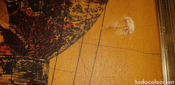 Arte: Litografia en tela sxix globo aerostático - Foto 4 - 224681678
