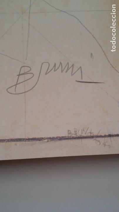 Arte: Bruno Bruni, litografía 4 / firmada - Foto 3 - 265912963