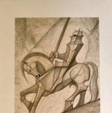 Arte: JOSE MARIA SUBIRACHS- LITOGRAFÍA. Lote 260047610
