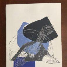 Arte: ANDY WARHOL LITOGRAFIA 57 X 38 ARCHES FRANCE TIMBRI GALLERIE D' ARTE. Lote 225513518