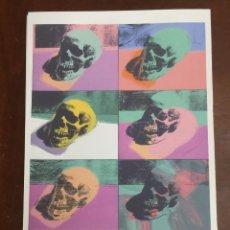 Art: ANDY WARHOL LITOGRAFIA 57 X 38 ARCHES FRANCE TIMBRI GALLERIE D ARTE. Lote 225526920
