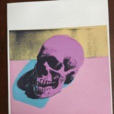Art: ANDY WARHOL LITOGRAFIA 57 X 38 ARCHES FRANCE TIMBRI GALLERIE D ARTE. Lote 225527167