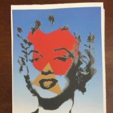 Arte: ANDY WARHOL LITOGRAFIA 57 X 38 ARCHES FRANCE TIMBRI GALLERIE D' ARTE. Lote 225736420
