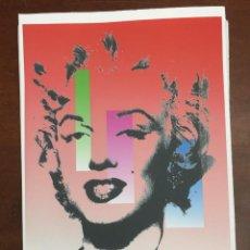 Arte: ANDY WARHOL LITOGRAFIA 57 X 38 ARCHES FRANCE TIMBRI GALLERIE D' ARTE. Lote 225736465