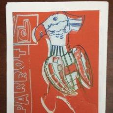 Arte: ANDY WARHOL LITOGRAFIA 57 X 38 ARCHES FRANCE TIMBRI GALLERIE D' ARTE. Lote 225750851