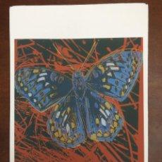 Arte: ANDY WARHOL LITOGRAFIA 57 X 38 ARCHES FRANCE TIMBRI GALLERIE D' ARTE. Lote 225750961