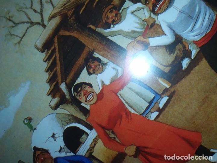 Arte: LOTE TRES LITOGRAFIA ORIGINAL DE F.MOLINA CAMPOS ENMARCADAS CRISTAL - Foto 5 - 225919550