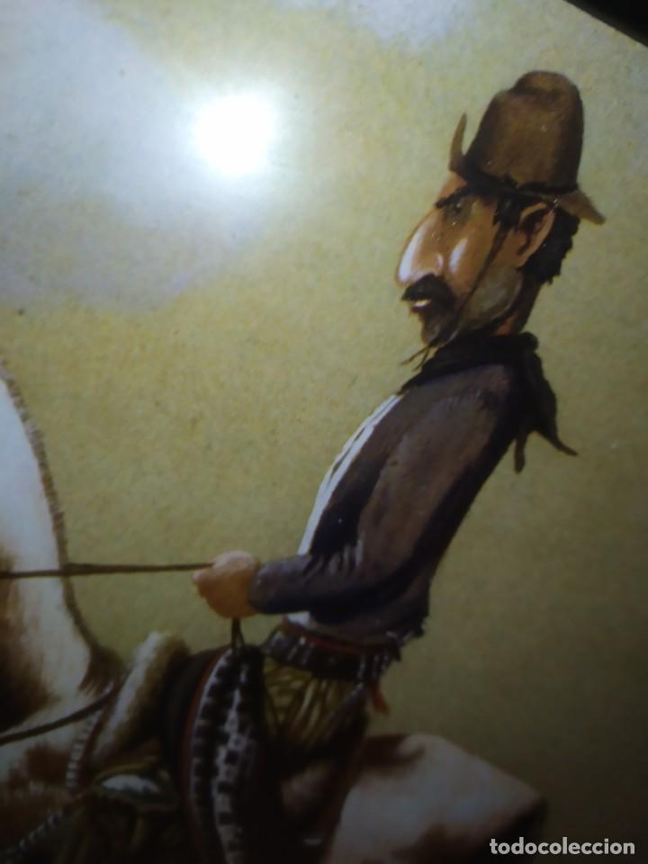 Arte: LOTE TRES LITOGRAFIA ORIGINAL DE F.MOLINA CAMPOS ENMARCADAS CRISTAL - Foto 12 - 225919550