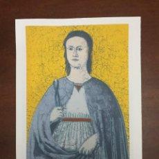 Arte: ANDY WARHOL LITOGRAFIA 57 X 38 ARCHES FRANCE TIMBRI GALLERIE D' ARTE. Lote 226080145