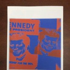 Arte: ANDY WARHOL LITOGRAFIA 57 X 38 ARCHES FRANCE TIMBRI GALLERIE D' ARTE. Lote 226080523