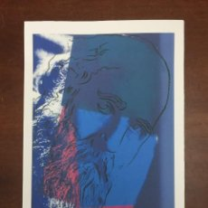 Arte: ANDY WARHOL LITOGRAFIA 57 X 38 ARCHES FRANCE TIMBRI GALLERIE D' ARTE. Lote 226080985