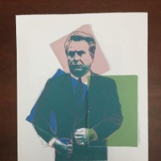 Arte: ANDY WARHOL LITOGRAFIA 57 X 38 ARCHES FRANCE TIMBRI GALLERIE D' ARTE. Lote 226081200