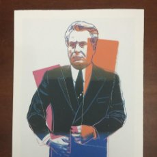 Arte: ANDY WARHOL LITOGRAFIA 57 X 38 ARCHES FRANCE TIMBRI GALLERIE D' ARTE. Lote 226082790