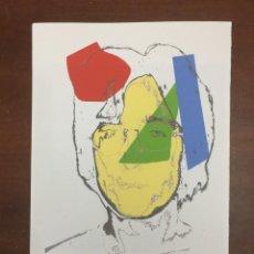 Arte: ANDY WARHOL LITOGRAFIA 57 X 38 ARCHES FRANCE TIMBRI GALLERIE D' ARTE. Lote 226084437