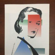 Arte: ANDY WARHOL LITOGRAFIA 57 X 38 ARCHES FRANCE TIMBRI GALLERIE D' ARTE. Lote 226085070