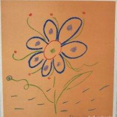 Arte: MARIA GIRONA - DIBUJO COLOR SOBRE PAPEL -. Lote 227872985