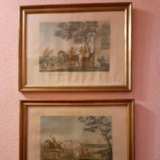 Arte: 2 LITOGRAFÍAS INGLESAS S. XIX. Lote 228259880