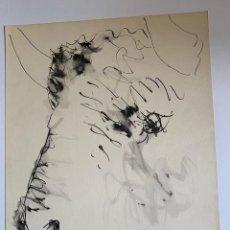 Arte: CABEZA DE TORO, LITOGRAFIA ORIGINAL DE PICASSO PUBLICADA EN 1957. Lote 228302720