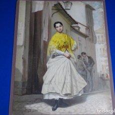 Arte: ANTIGUA LITOGRAFIA DE LOS ANDALUCES.PLAZA DE LAVAPIES.F. TORRAS.M. PUJADOY.. Lote 228336376