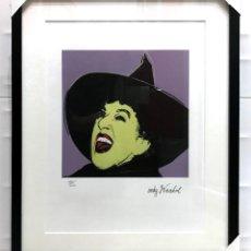 Arte: THE WITCH ANDY WARHOL MYTHS 1981 LITOGRAFIA EDICION LIMITADA NUMERADA EL MAGO DE OZ CARNEGIE MUSEUM. Lote 228457620