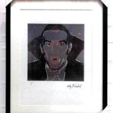 Arte: DRACULA ANDY WARHOL MYTHS 1981 LITOGRAFIA EDICION LIMITADA NUMERADA SANGRE X VAMPIRO CARNEGIE MUSEUM. Lote 228458545