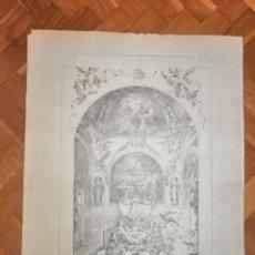 Arte: NUESTRA SEÑORA DE MISERICORDIA DE LA CIUDAD DE REUS. JOSÉ LLOVERA Y BUFILL DBº, LIT. VAZQUEZ.CA.1880. Lote 229570015