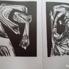 Arte: ANTONIO SAURA, PORTFOLIO MANUS PRESSE, 1990, 1000 EJEMPLARES. Lote 229895800