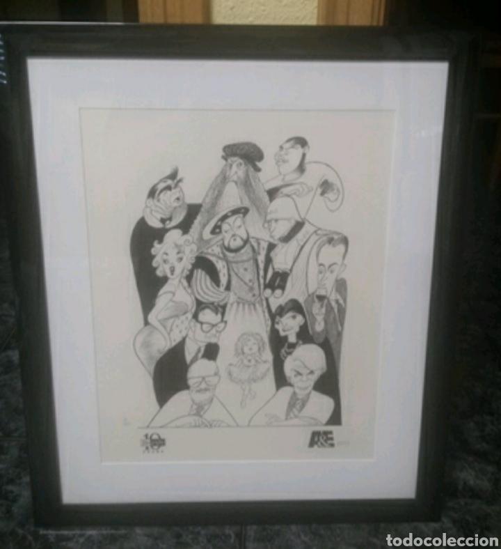 Arte: Litografia Hirschfeld Marilyn Monroe Andy Warhol Shirley Temple. - Foto 5 - 230072085