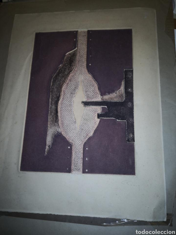 Arte: litografia Salvador Soria P.E coleccion litografias arte - Foto 2 - 230934590
