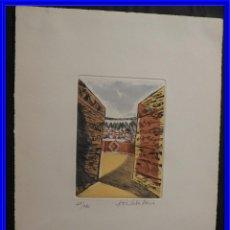 Arte: GRABADO DE JOSE CABALLERO AL AGUAFUERTE Y AGUATINTA. Lote 231548885
