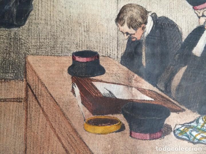 Arte: Honoré Daumier (1808-1879) - Les Gens de Justice (Siglo XIX). Editión Hautecoeur Paris - Foto 2 - 231809805