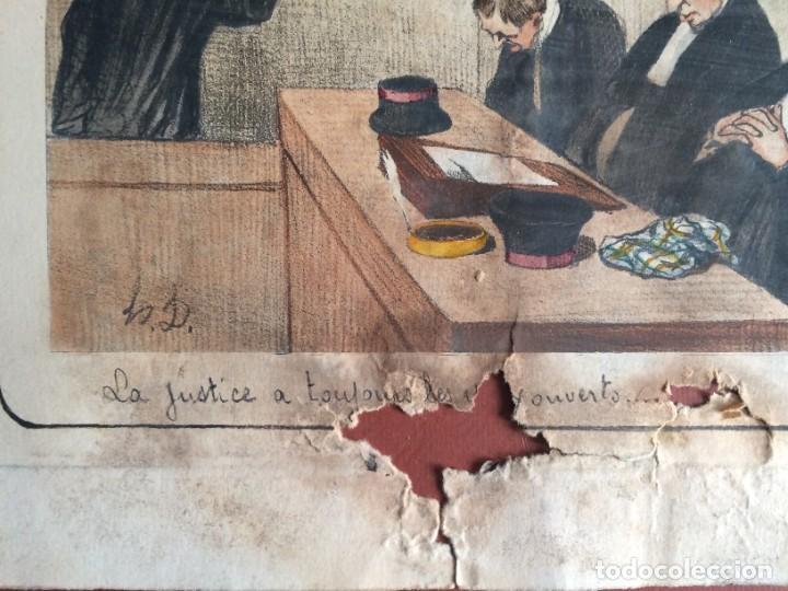 Arte: Honoré Daumier (1808-1879) - Les Gens de Justice (Siglo XIX). Editión Hautecoeur Paris - Foto 10 - 231809805