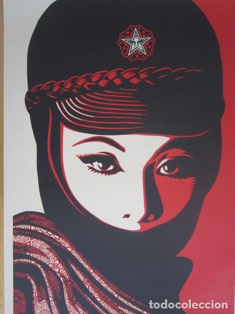 Arte: OBEY (Shepard Fairey)-Firmada- Mujer Fatale - Litografía -61x91cm - Foto 2 - 257433615