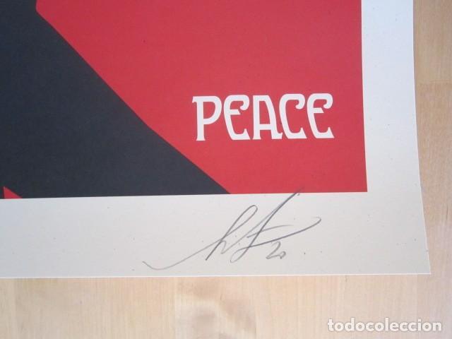 Arte: OBEY (Shepard Fairey)-Firmada- Mujer Fatale - Litografía -61x91cm - Foto 5 - 257433615