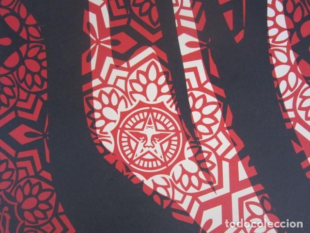 Arte: OBEY (Shepard Fairey)-Firmada- Mujer Fatale - Litografía -61x91cm - Foto 6 - 257433615