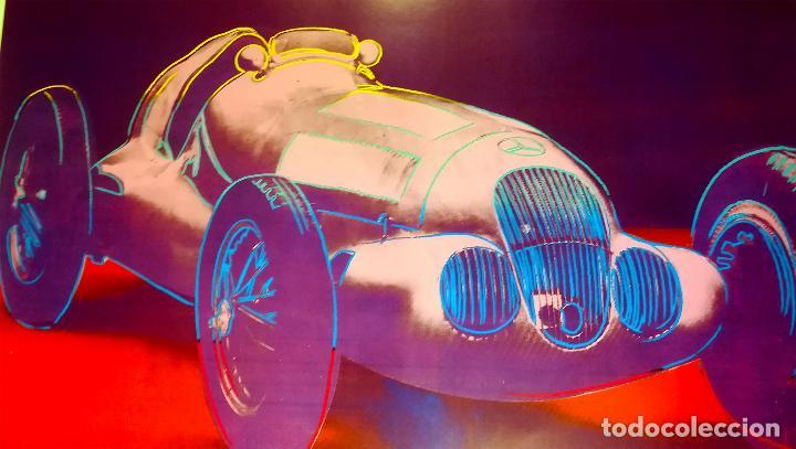 Arte: Cartel Andy Warhol.Cars.Mercedes Benz Formel Rennwagen W 125. 1937-1986.Achenbach Art Edition Galer - Foto 2 - 232750250