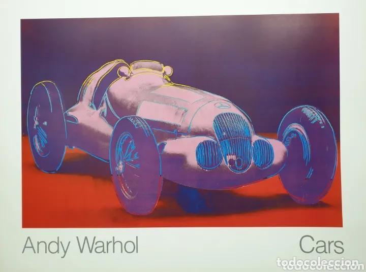 Arte: Cartel Andy Warhol.Cars.Mercedes Benz Formel Rennwagen W 125. 1937-1986.Achenbach Art Edition Galer - Foto 4 - 232750250