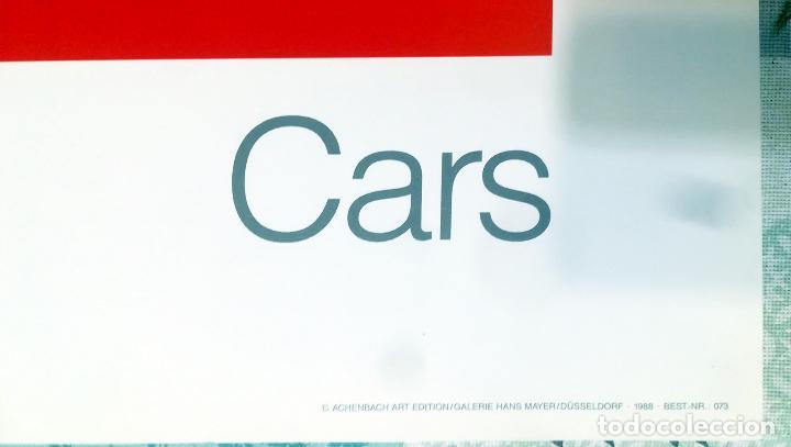 Arte: Cartel Andy Warhol.Cars.Mercedes Benz Formel Rennwagen W 125. 1937-1986.Achenbach Art Edition Galer - Foto 5 - 232750250