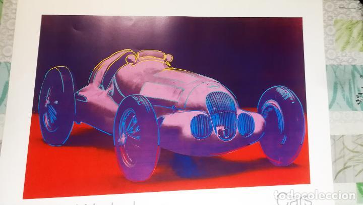 Arte: Cartel Andy Warhol.Cars.Mercedes Benz Formel Rennwagen W 125. 1937-1986.Achenbach Art Edition Galer - Foto 6 - 232750250