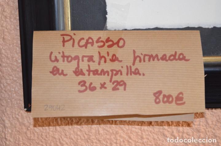 Arte: Litografía Picasso. Firmada - Foto 2 - 234116705