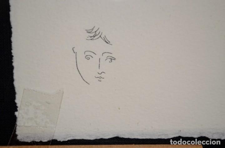 Arte: Litografía Picasso. Firmada - Foto 4 - 234116705